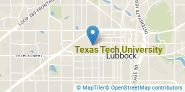 Location of Texas Tech University