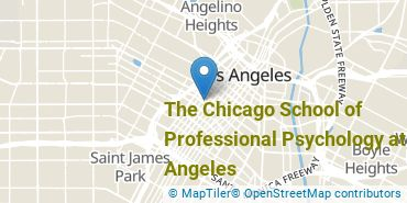 Location of The Chicago School of Professional Psychology at Los Angeles