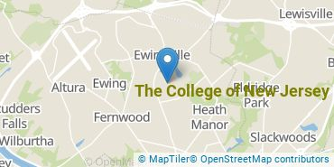 Location of The College of New Jersey