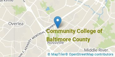Location of Community College of Baltimore County