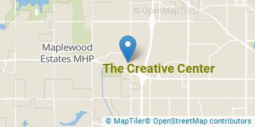 Location of The Creative Center