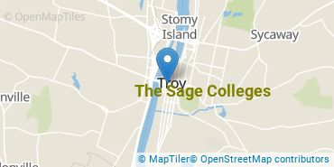 Location of The Sage Colleges