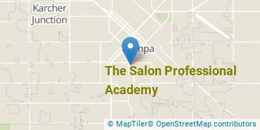 Location of The Salon Professional Academy