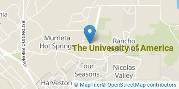Location of The University of America