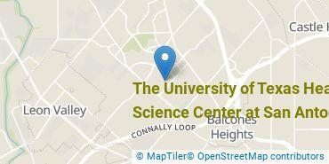 Location of The University of Texas Health Science Center at San Antonio