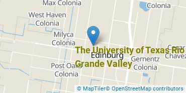 Location of The University of Texas Rio Grande Valley