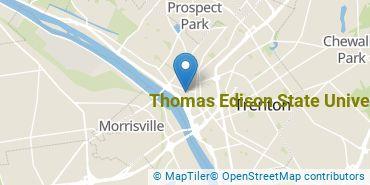 Location of Thomas Edison State University