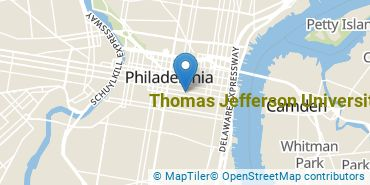 Location of Thomas Jefferson University