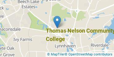 Location of Thomas Nelson Community College