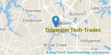 Location of Tidewater Tech-Trades