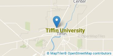 Location of Tiffin University