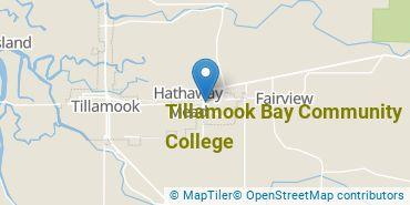 Location of Tillamook Bay Community College