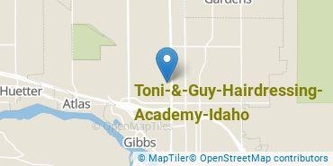Location of Toni & Guy Hairdressing Academy-Idaho