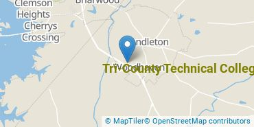 Location of Tri-County Technical College