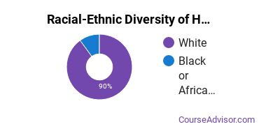 Racial-Ethnic Diversity of Heating, Air Conditioning, Ventilation & Refrigeration Majors at Tri-County Technical College