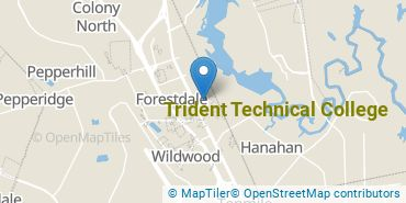 Location of Trident Technical College