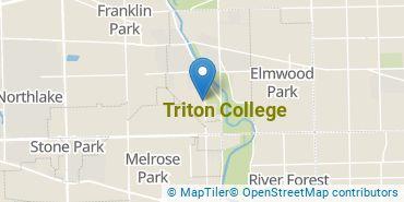 Location of Triton College
