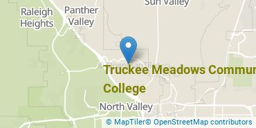 Location of Truckee Meadows Community College