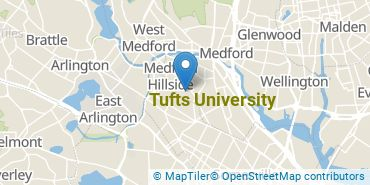 Location of Tufts University