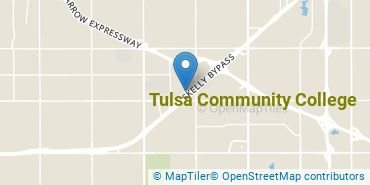 Location of Tulsa Community College