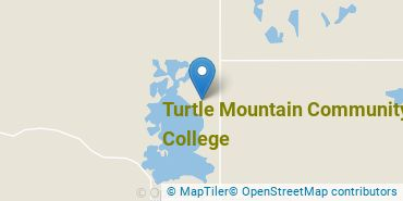 Location of Turtle Mountain Community College