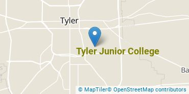 Location of Tyler Junior College