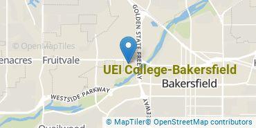 Location of UEI College-Bakersfield