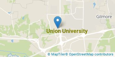 Location of Union University