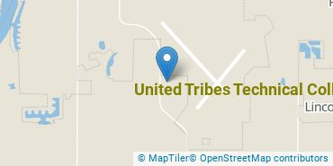 Location of United Tribes Technical College