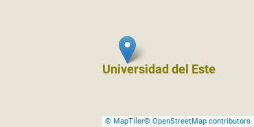 Location of Universidad del Este
