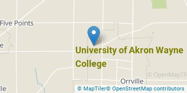 Location of University of Akron Wayne College