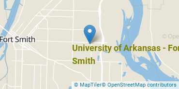 Location of University of Arkansas - Fort Smith