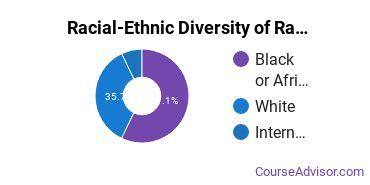 Racial-Ethnic Diversity of Radio, Television & Digital Communication Majors at University of Baltimore