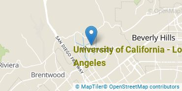 Location of University of California - Los Angeles