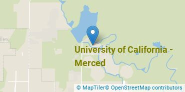 Location of University of California - Merced