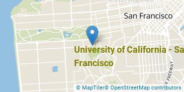 Location of University of California - San Francisco