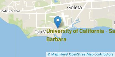 Location of University of California - Santa Barbara