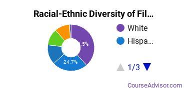 Racial-Ethnic Diversity of Film, Video & Photographic Arts Majors at University of California - Santa Barbara