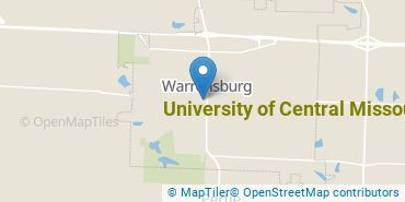 Location of University of Central Missouri
