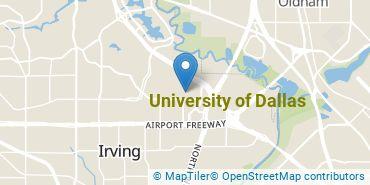 Location of University of Dallas