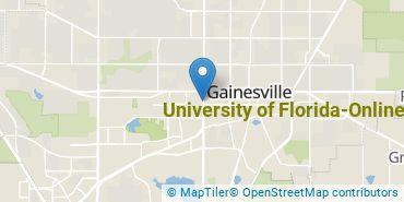Location of University of Florida-Online