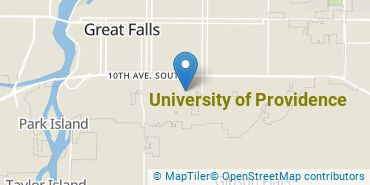 Location of University of Providence