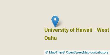 Location of University of Hawaii - West Oahu
