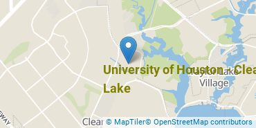 Location of University of Houston - Clear Lake