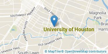Location of University of Houston