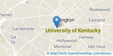 Location of University of Kentucky