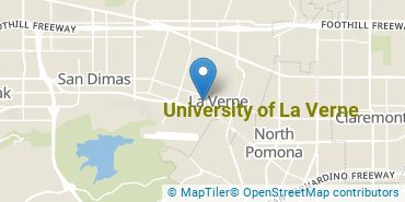 Location of University of La Verne