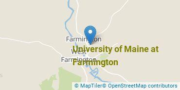Location of University of Maine at Farmington