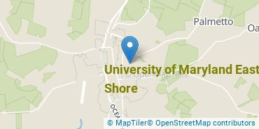 Location of University of Maryland Eastern Shore