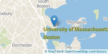Location of University of Massachusetts - Boston